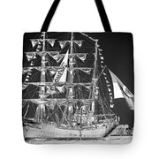 Charleston Ghost Ship Tote Bag