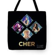 Cher - Blue Diamonds Tote Bag