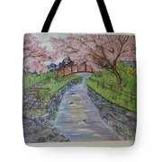 Cherry River Tote Bag