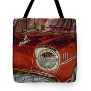 Chevy Classic Difference Tote Bag by Keith Smith