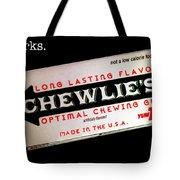 Chewlie's Gum Clerks Tote Bag