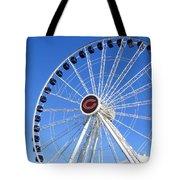 Chicago Centennial Ferris Wheel 2 Tote Bag