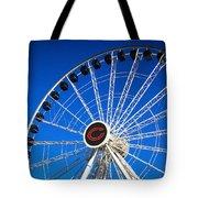 Chicago Centennial Ferris Wheel Tote Bag