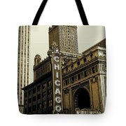 Chicago Cinema Theater - Vintage Photo Art Tote Bag