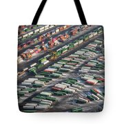 Chicago Railyards Tote Bag by Mary Lee Dereske