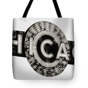Chicago Theater Marquee - T-shirt Tote Bag