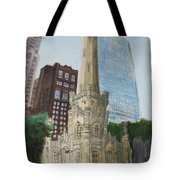 Chicago Water Tower 1a Tote Bag