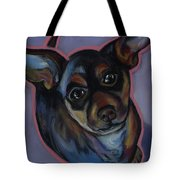 chihuahua Wow Wow Tote Bag