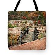 Chikanishing Trail Boardwalk II Tote Bag