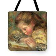 Child Reading, 1890  Tote Bag