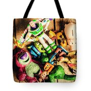Childhood Collectibles Tote Bag