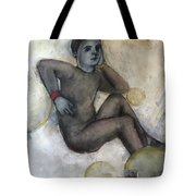 Childs Dancer 41 Tote Bag
