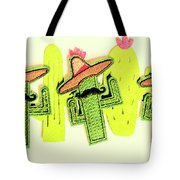 Chili Con Cacti Tote Bag