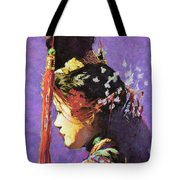 Chinese Headdress #2 Tote Bag