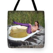 Chokoloskee Mermaid 0552 Tote Bag