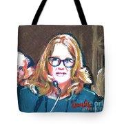 Christine Blasey Ford Testifies Before Senate Tote Bag
