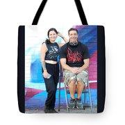 Chris And Alek All Smiles Tote Bag