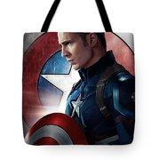 Chris Evans Captain America  Avengers Tote Bag