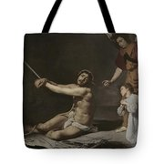 Christ After The Flagellation Contemplated By The Christian Soul Tote Bag