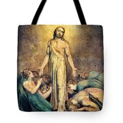 Christ Appearing To The Apostles After The Resurrection - Digital Remastered Edition Tote Bag