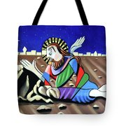Christ Will Come Again Tote Bag by Anthony Falbo