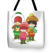 Christmas Angels Tote Bag
