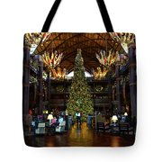 Christmas At The Ak Lodge Tote Bag