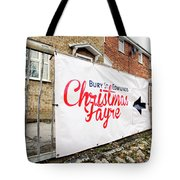 Christmas Fayre Sign Tote Bag