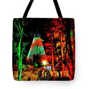 Christmas Red And Green Tote Bag