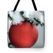 Christmas Tree, France Tote Bag