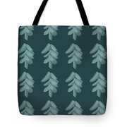Christmas Tree Pattern Tote Bag