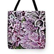 Chrysanthemum Abstract. Tote Bag
