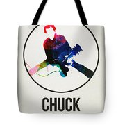 Chuck Berry Watercolor Tote Bag