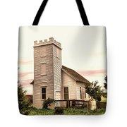 Church In Bowman North Dakota Tote Bag