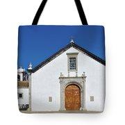 Church Of Cacela Velha In Portugal Tote Bag
