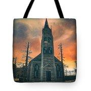 Church Of Days Past Tote Bag