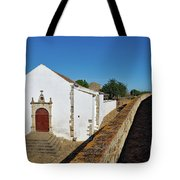 Church Of Misericordia In Medieval Castle Tote Bag