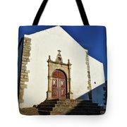 Church Of Misericordia. Portugal Tote Bag