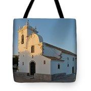 Church Of Querenca In Loule. Portugal Tote Bag
