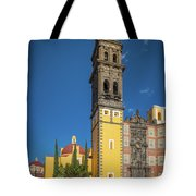 Church Of San Francisco In Puebla Tote Bag