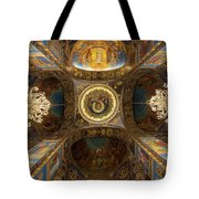 Church Of The Spilled Blood Tote Bag