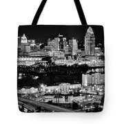 Cincinnati Covington And Ohio River Tote Bag