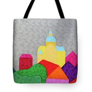 City 1 Tote Bag