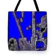 Abstract/city Lights Tote Bag