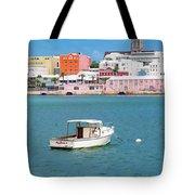 City Of Hamilton Bermuda Tote Bag