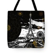 City Of Lights - Kaleidoscope Moon For Children Gone Too Soon Number 6  Tote Bag