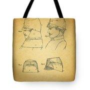 Civil War Military Hat Tote Bag
