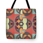 Claire Pattern Tote Bag