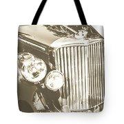 Classic Car Chrome Tote Bag