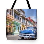 Classic Car Havana 8x10 Tote Bag